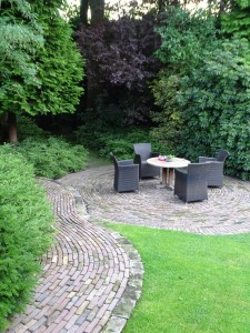 Klassieke tuinaanleg in Soest