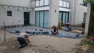 Bestrating door stratenmakers Zeewolde