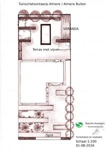 Tuinontwerp en realisatie Almere