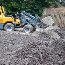 Sierbestrating en grondverzet voor tuinaanleg