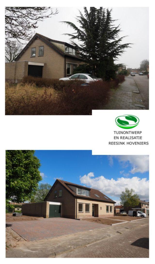 Sloop en opbouw van een tuin in Harderwijk