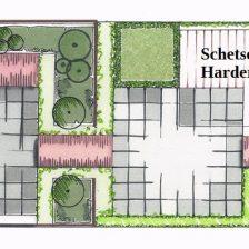 Tuinontwerp voor tuinaanleg Harderwijk