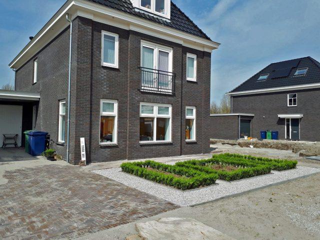 Tuinaanleg in de nieuwbouw van Almere