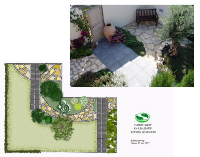Mediterrane tuin (tuinontwerpbureau Reesink Hoveniers Zeewolde)