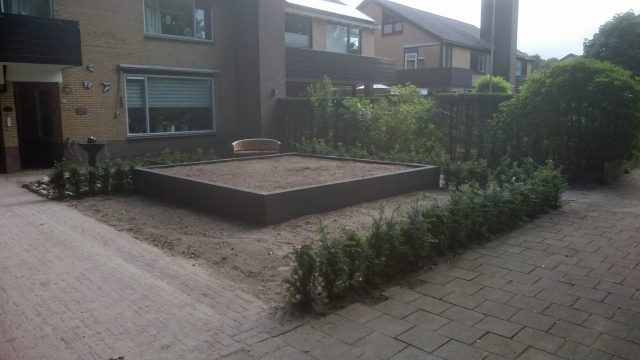 Voor het beplanten