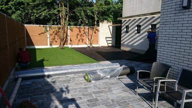 Professionele aanpak in tuinaanleg met kunstgras