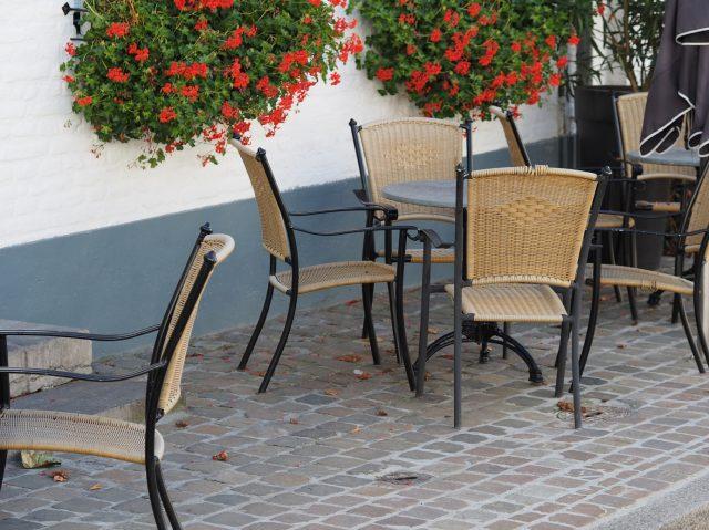 Bestrating terrassen voor restaurants