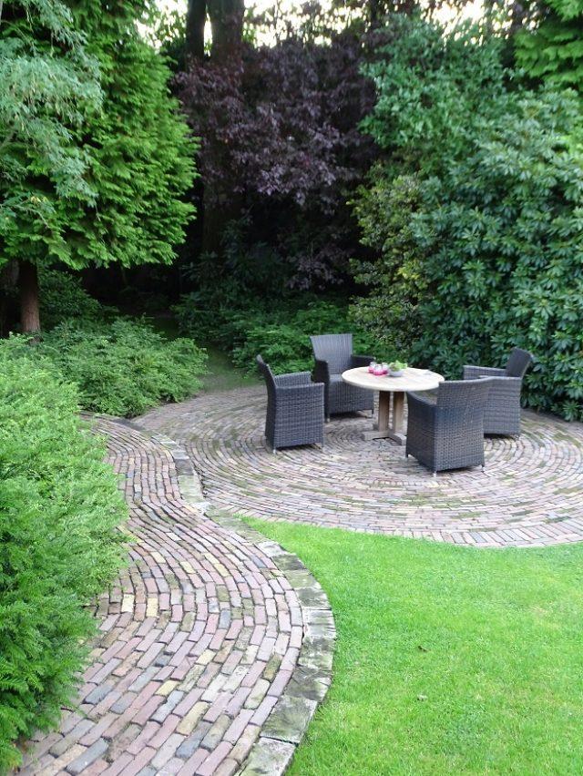 Bestrating in klassieke tuinen