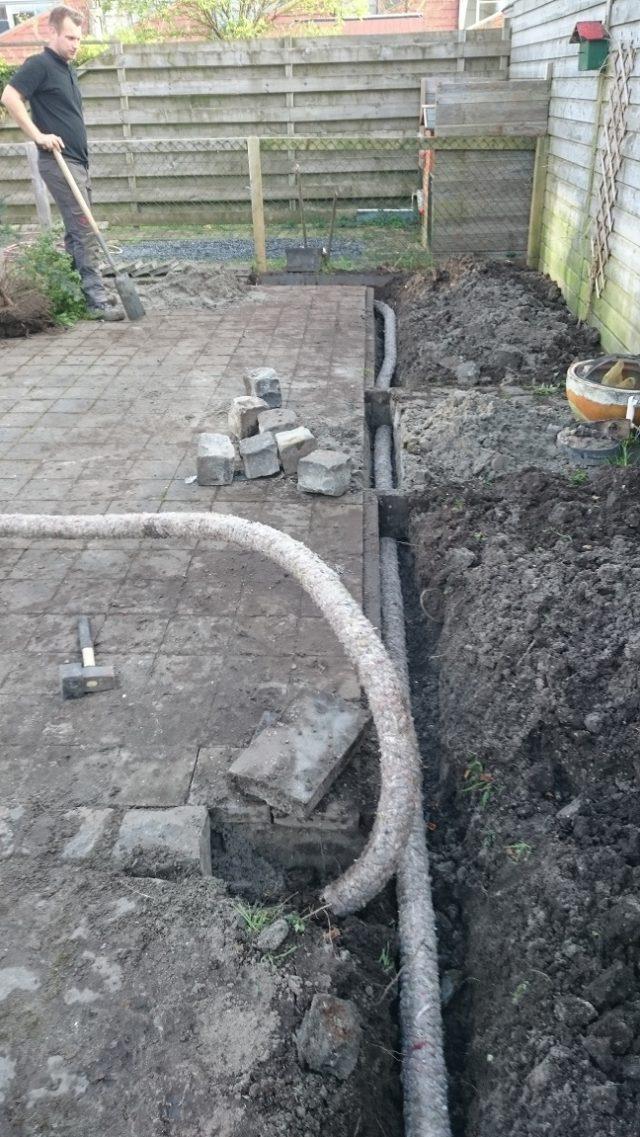 Bestrating en drainage
