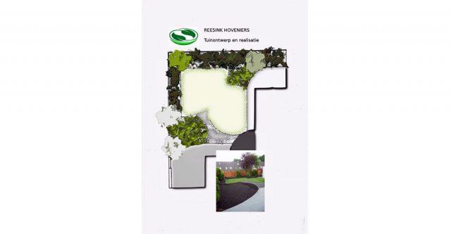 Terras en tuinaanleg in Soest