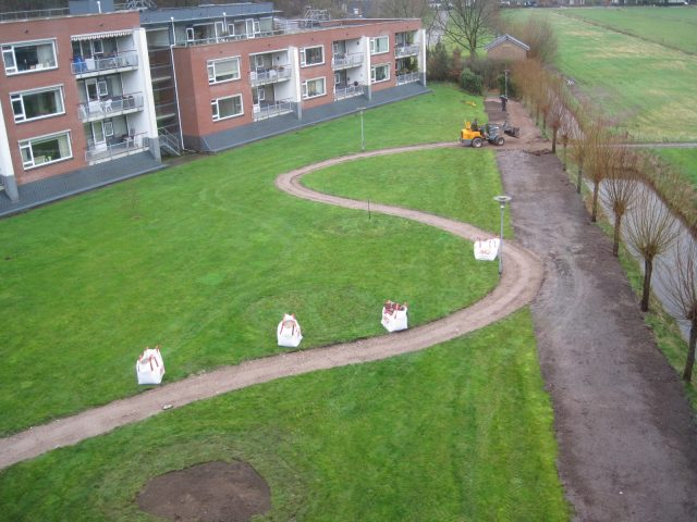 Tuinaanleg Soest, renovatie parkaanleg