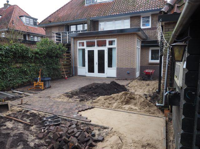 Terrassen en tuinpaden