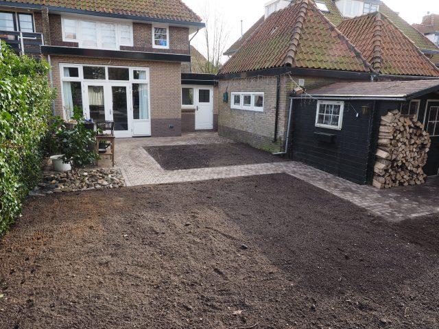 Bestrating tuinpaden en terras Bussum