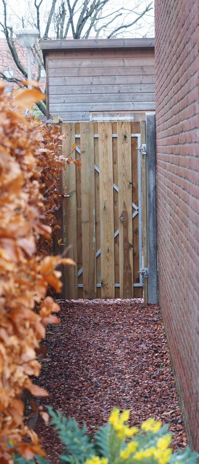 Ook voor tuindeuren (sterk met stalen frame)