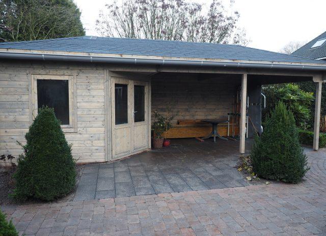 Tuinhuis PAIVA met veranda