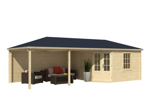 Tuinhuis met veranda in Huizen